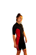 Small Shorty Wetsuit - Front Zip Off Style - Women's or Shorter Men - 2200