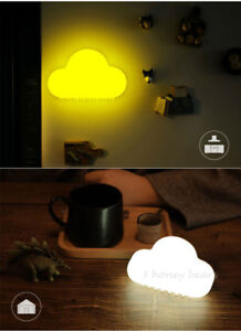 Cloud Night Light Children Room LED Night Light USB Rechargeable