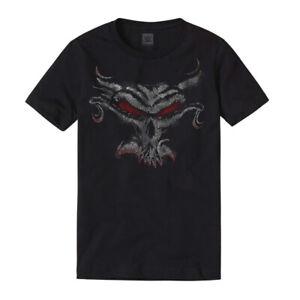 """WWE Brock Lesnar """"The Beast Skull"""" Authentic T-Shirt *NEU* Official Shirt"""