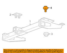 GM OEM Trailer Hitch-Rear Body & Floor-Trailer Hitch Bolt 11515775