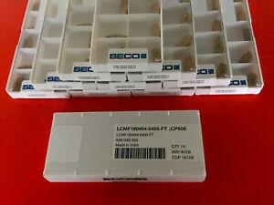 10 Stück Seco LCMF160404-0400-FT , CP500 , Ich verkaufe nur Originalwerkzeug!