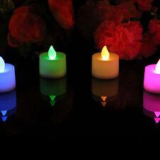 4 couleur changeante LED Pile Bougie - Sans flammes Humeur Bougies par PK Green