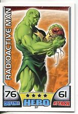 Marvel Hero Attax Series 1 Base Card #97 Radioactive Man