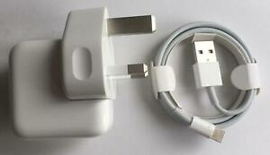 Genuine Apple 10w USB Mains Charger Power Adapter iPad iPod iPhone X XR XS Pro 8