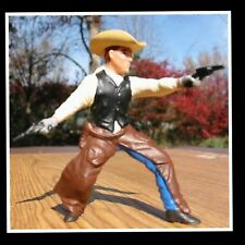 Retired NWT Papo Wild West Western Cowboy Figure Sheriff Gunfighter 2 colts 2pc