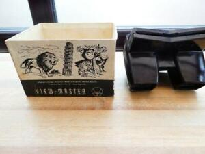 SAWYERS VIEW MASTER VINTAGE BAKELITE PART BOXED
