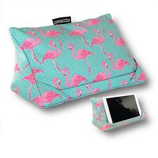 Coz-e-Reader Tablet Stand Pillow Flamingo iPad Cushion Wipe Clean Unique Gift