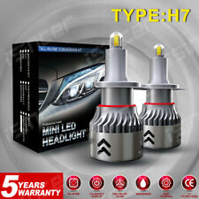 New listing 8-Side Mini H7 Led Headlight Fog Lights Csp Bulbs Kits 2200W 480000Lm 6000K Oi