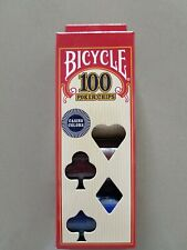 Casino poker chips di Bicycle, 100 pezzi