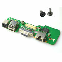 ORIGINAL FOR DELL INSPIRON 1545 DC POWER JACK CHARGER BOARD  + 2 Screws