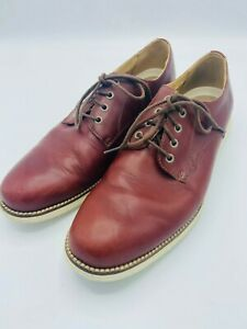 Cole Haan Grand OS Leather Lace Up Oxford Brown Shoes Size 9M
