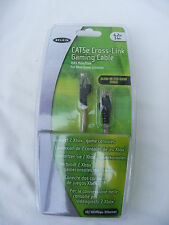 NEW Job Lot x5 BELKIN CAT5e CROSS-LINK 4.2M 14FT GAMING CABLES for Xbox