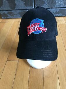 Planet Hollywood Orlando Men's Baseball Hat Cap Adjustable One Size Black GUC