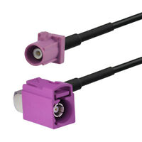 """GPS navigation antenna Extension cable Fakra Male to jack H RA pigtail RG174 6"""""""