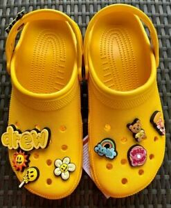 NEW CROCS Justin Bieber DREW Classic Yellow Size 5 to 13 Available Men & Women