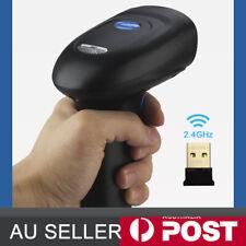 2.4G USB Wireless Cordless Portable 1D/2D/QR Barcode Scanner Bar Code Reader POS