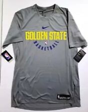 Nike Men's Dry Golden State Warriors Practice Jersey Shirt 877532 039 Size 4XL