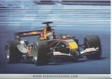 Christian Klien and David Coulthard Red Bull F1 Promo Card Un Signed Formula 1.