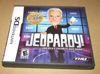 Jeopardy for Nintendo DS Complete Fast Shipping!