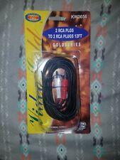 12ft RCA Plug Male GoldSeries KW3656