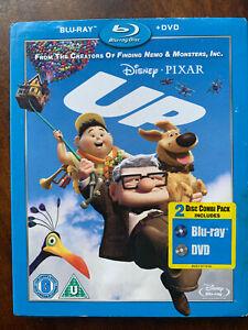 Up Blu-Ray + DVD 2009 Walt Disney Pixar Animato Classic W/Copertina