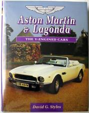 ASTON MARTIN & LAGONDA THE V-ENGINED CARS David G Styles ISBN 1852238089 Book