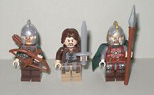 Lego Der Hobbit / Herr der Ringe Aragon , Eomer und Rohan Soldat je mit Zubehör