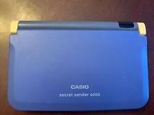 CASIO Secret Sender 6000 Electronic Communicator Organizer Calculator JD-6000