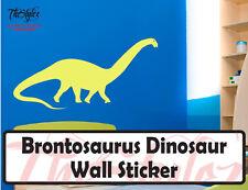 Brontosaurus Dinosaur Wall Vinyl Sticker