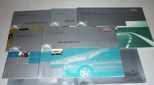 1998 AUDI A4 AVANT OWNERS MANUAL SET 98 GUIDE W/CASE