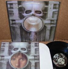 "Emerson Lake & Palmer Brain Salad Surgery LP NM Vinyl ""Poster"" CRC"