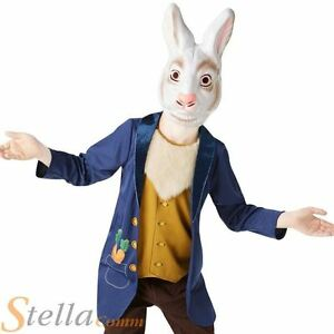 Boys Mr White Rabbit Costume Child Fancy Dress Alice In Wonderland Book Week