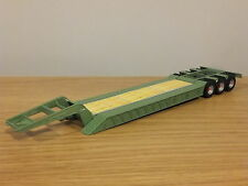 CARARAMA J B RAWCLIFFE GREEN NOOTEBOOM LOW LOADER TRUCK TRAILER MODEL CR006 1:50