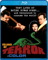 Island of Terror (1966 Peter Cushing) BLU-RAY NEW
