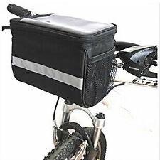 Fahrrad Lenkertasche  Gepäcktasche Rad  Einkaufskorb Schwarz Radfahren