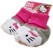 Sanrio Hello Kitty Plush Booties Slipper Socks 12-24 Months NEW
