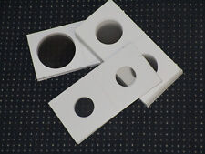 """50  assorted 2"""" X 2"""" cardboard  coin holders."""