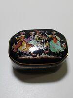 Pulcinella  Fine Porcelain Music Box - Masterpieces of Russian Ballet