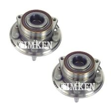 Pair Set 2 Rear Timken Wheel Bearing & Hub Kit for Buick Cadillac Chevy Saab FWD