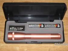 MAGLITE AA PRO LED ROSE GOLD 2 Cell Flashlight Maglight 272 Lumens NEW ITEM