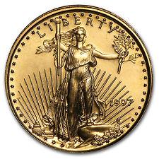 1997 1/10 oz Gold American Eagle BU - SKU #7446