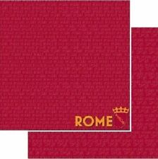 2 Sheets 12x12 Double Sided Scrapbook Paper Rome Italy PSP-056 Passports