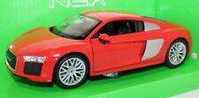 Audi R8 V10 - Red, Classic Metal Model Car 1/24 G LGB