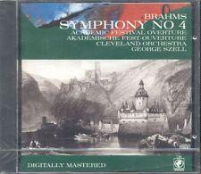 Brahms - Symphony N. 4 (George Szell) Cbs Odyssey Cd Sigillato