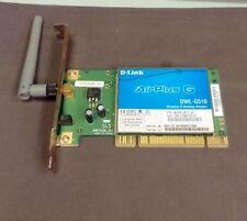 D-link Air Plus G DWL-G510 PCI Wireless Card BDWLG510.B1