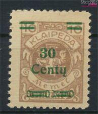 Memelgebiet 222 met Fold 1923 Aanvullende Issue (9288909