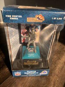 VTG 1998 Dan Marino Sports Illustrated Fine Pewter Figure COA 4139 of 9998 NIB