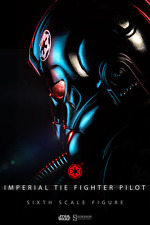 """1:6 Scale Figures--Star Wars - Imperial TIE Fighter Pilot 1:6 Scale 12"""" Figure"""