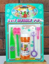 Miracle Bubbles - 5 in 1 Bubble Fun - Vintage Retro Bubbles - Imperial Toys 1994