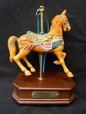 Impulse Giftware Dentzel C.1905 Porcelain Carousel Musical Horse